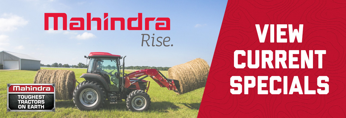 Mahindra Specials at Weeks Tractor